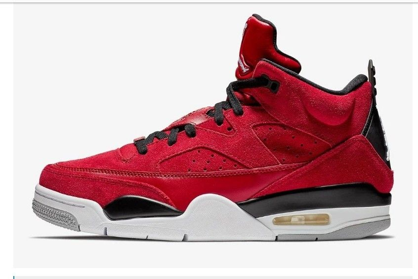 online store ab133 a77b1 Air Jordan Son Of Mars Low Gym Red Black Wolf Grey White