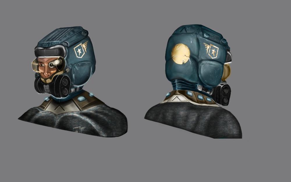 Artstation Space Marine Helmet Dervish Evren Space Marine Marine Helmet