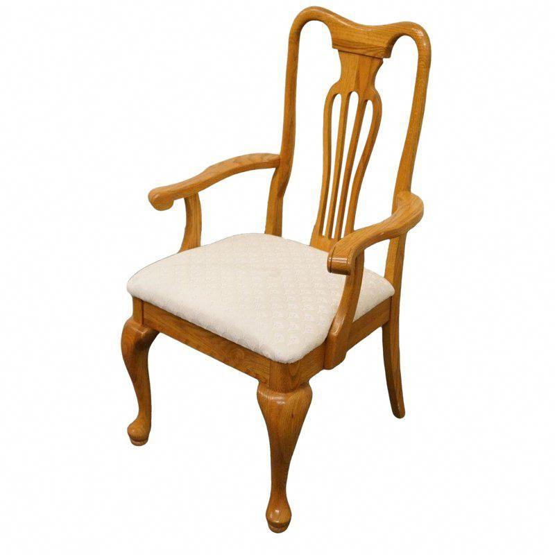 Late 20th Century Vintage Keller Furniture Oak Dining Chair