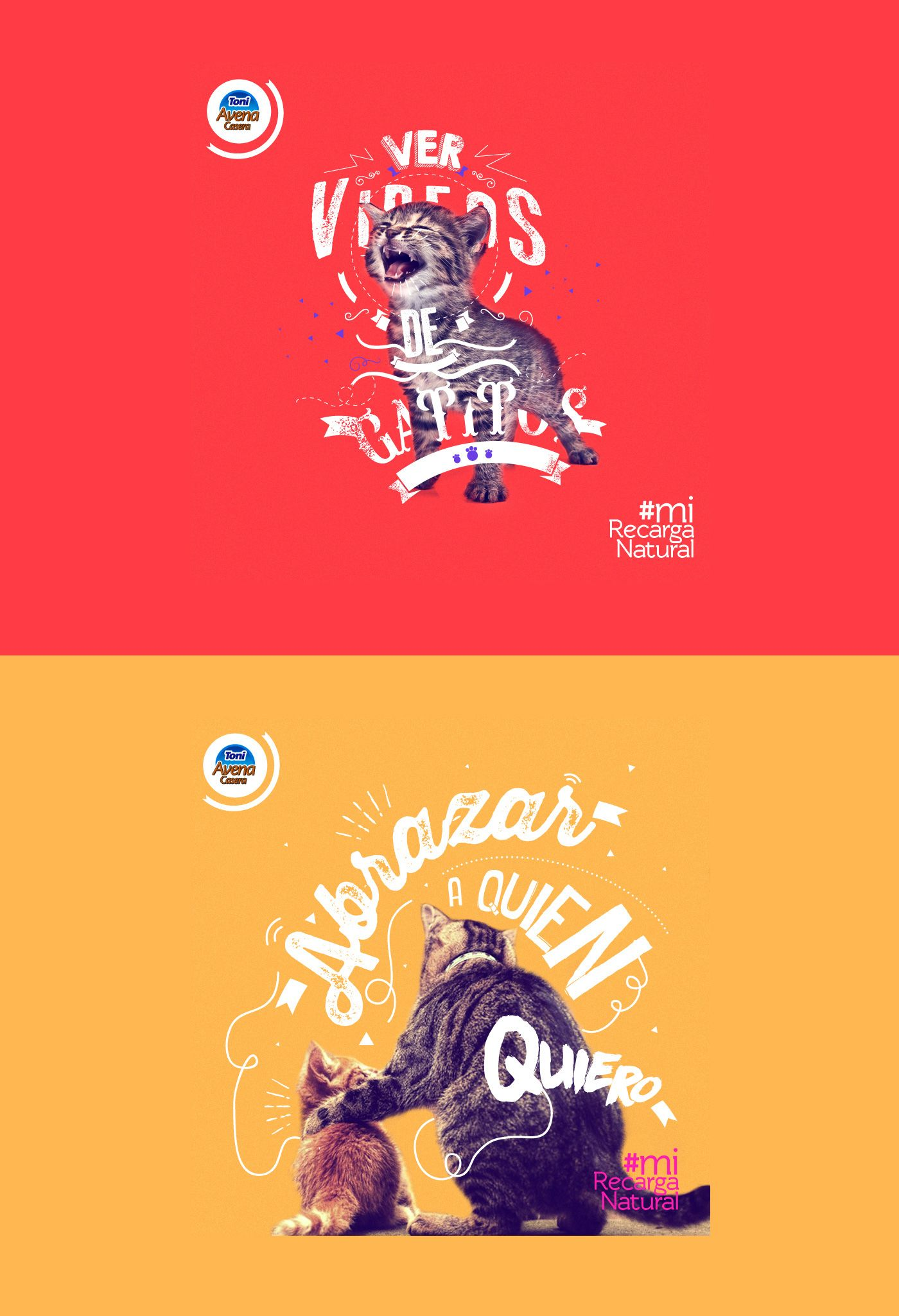 Diseño de serie de post para campaña de contenido