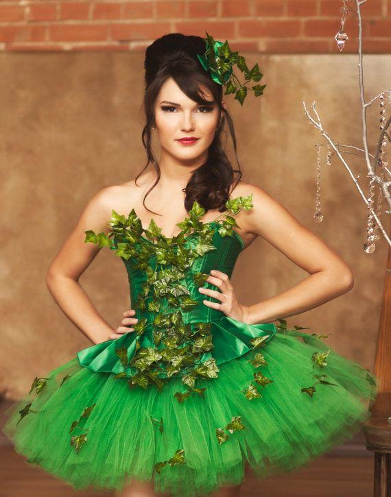 Dieser Spaß und super niedliche Kleid besteht aus drei Teilen einem - green dress halloween costume ideas