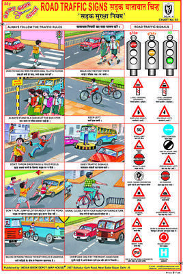 (eBay link) Road Traffic Signs Chart Road Safety Our