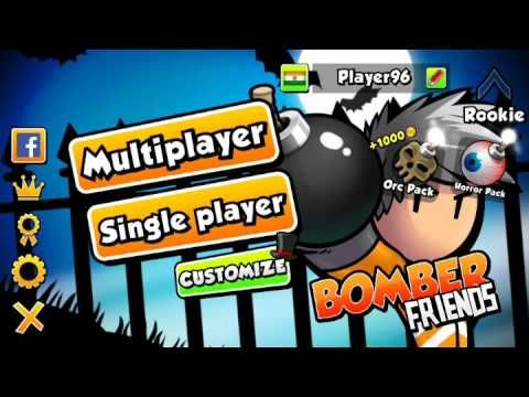 Bomber Friends Android Game Online Fun Bomber Game