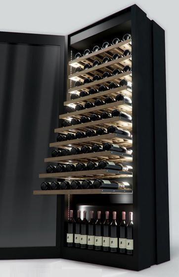 Ht Lux Winecellar Sand Birch Projeto De Adega Armarios De