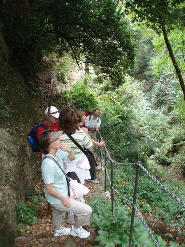 Walking tour (Liguria, Italy)