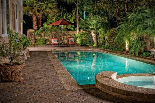 Backyard Designs With Pool backyard landscaping ideas swimming pool design Backyard Swimming Pool Designs Water Feature Elevates The Aesthetic Appeal Of The Gorgeous Pool Design The
