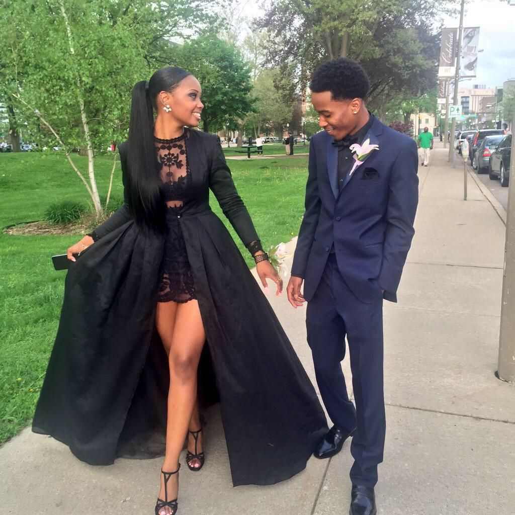 Black dress goals - Unique Prom Dresses
