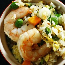 Shrimp Fried Rice (Cantonese Style Fried Rice).  Make extra - it goes fast!