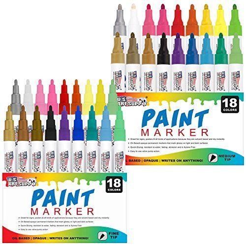 Sharpie Water-Based Paint Marker Medium Point (Green)