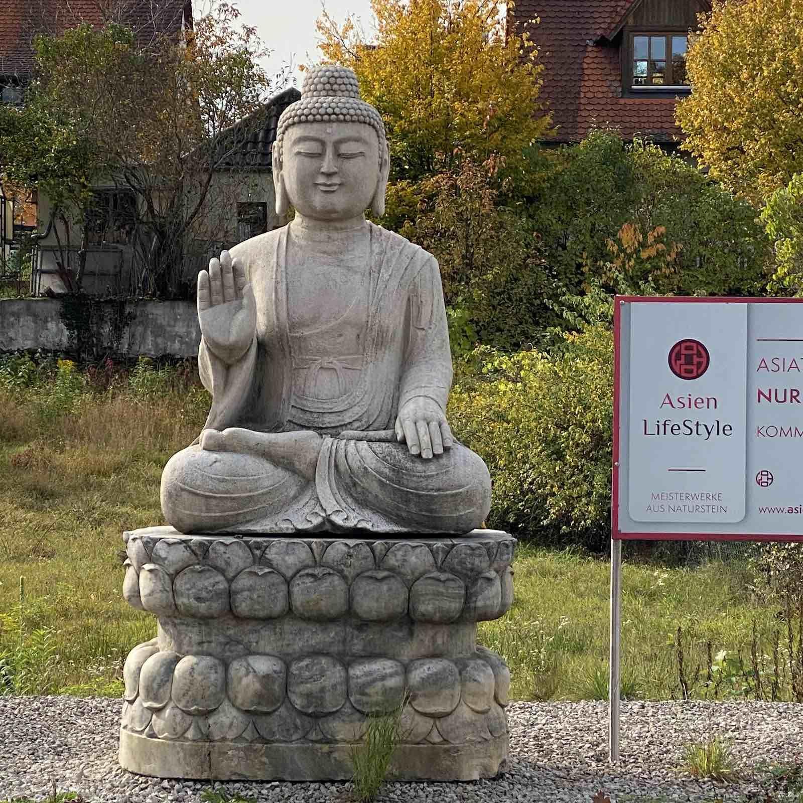 282cm Grosser Marmor Buddha Garten Skulptur Buddha Buddha Figur Buddha Statuen