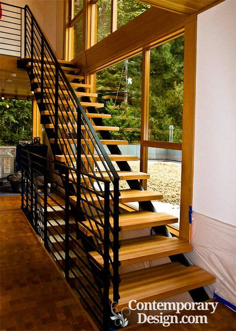 Best Wood And Metal Staircase Wood Staircase Wooden Stairs 400 x 300