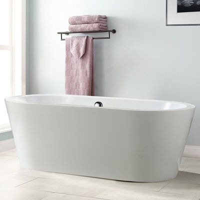 """Vinnova Melania 68"""" x 32"""" Soaking Bathtub"""