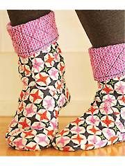 Bedtime Boots Sewing Pattern