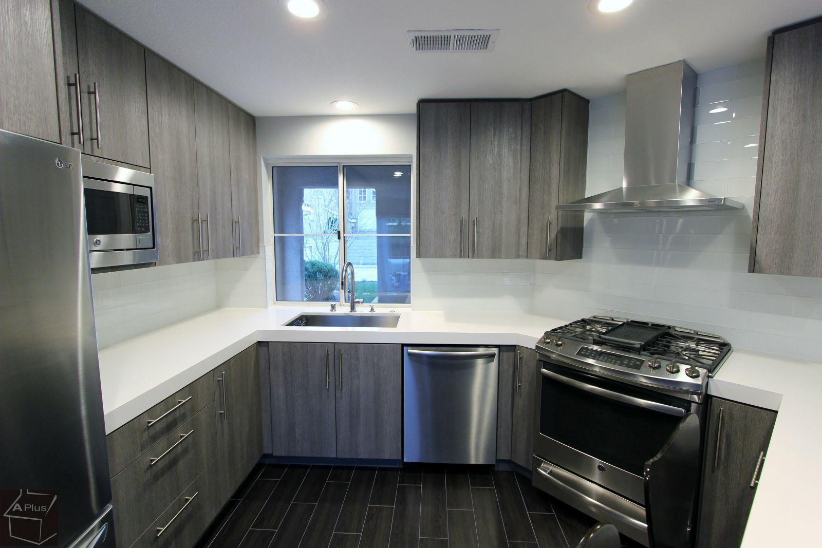 Modern Style #Kitchen #Remodel With Sophia Line Cabinets Santa Ana #Orange  #County