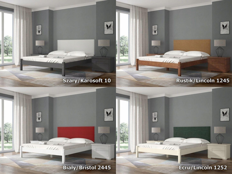 łóżko Savona 180x200 Zagłówek Kolory Stelaż 7547432097