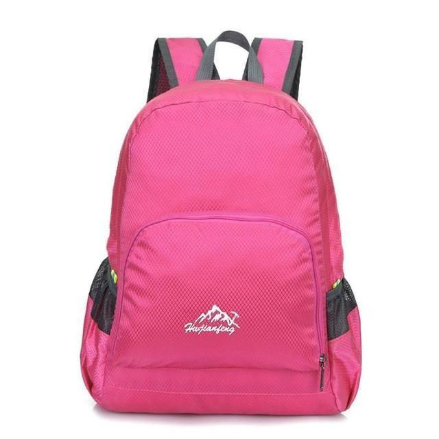 1pcs Adjustable straps Outdoor Waterproof Folding Backpack Package Bag Outdoor Hiking Bag Comfortable #