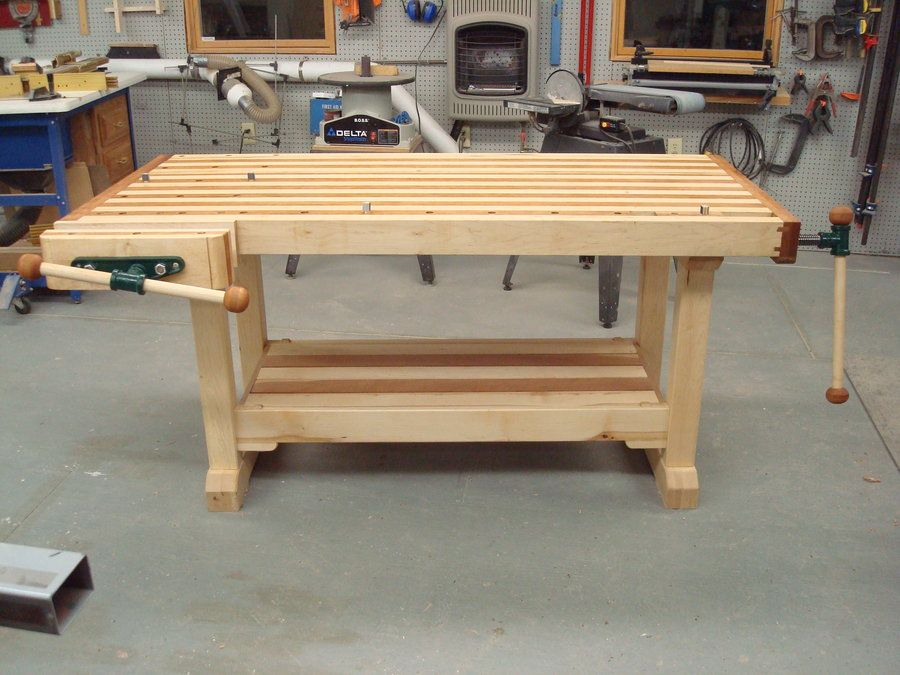 Wood Shop Bench Dimensions Google Search Furniture