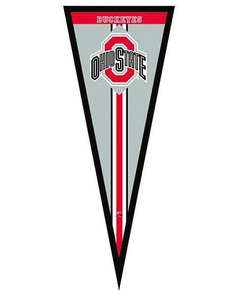Ohio State Buckeyes Framed Pennant Graphic   College Basketball ...