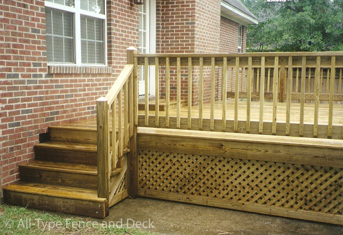 Amazing Deck Fencing | Deck Railing Baluster Spacing ~ Deck Railing Building Code