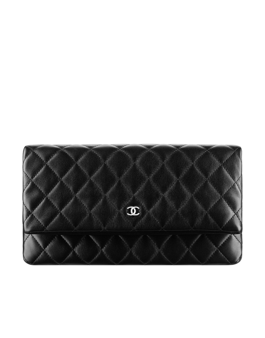 0539599db727 Large lambskin folded pouch - CHANEL .... This may have to be my Merry  Christmas to me gift this year.