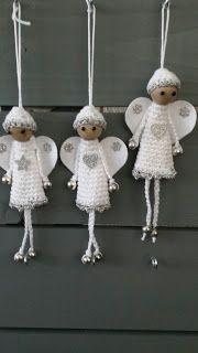 Engeltjes Voor In De Kerstboom Knuffies Haken Pinterest