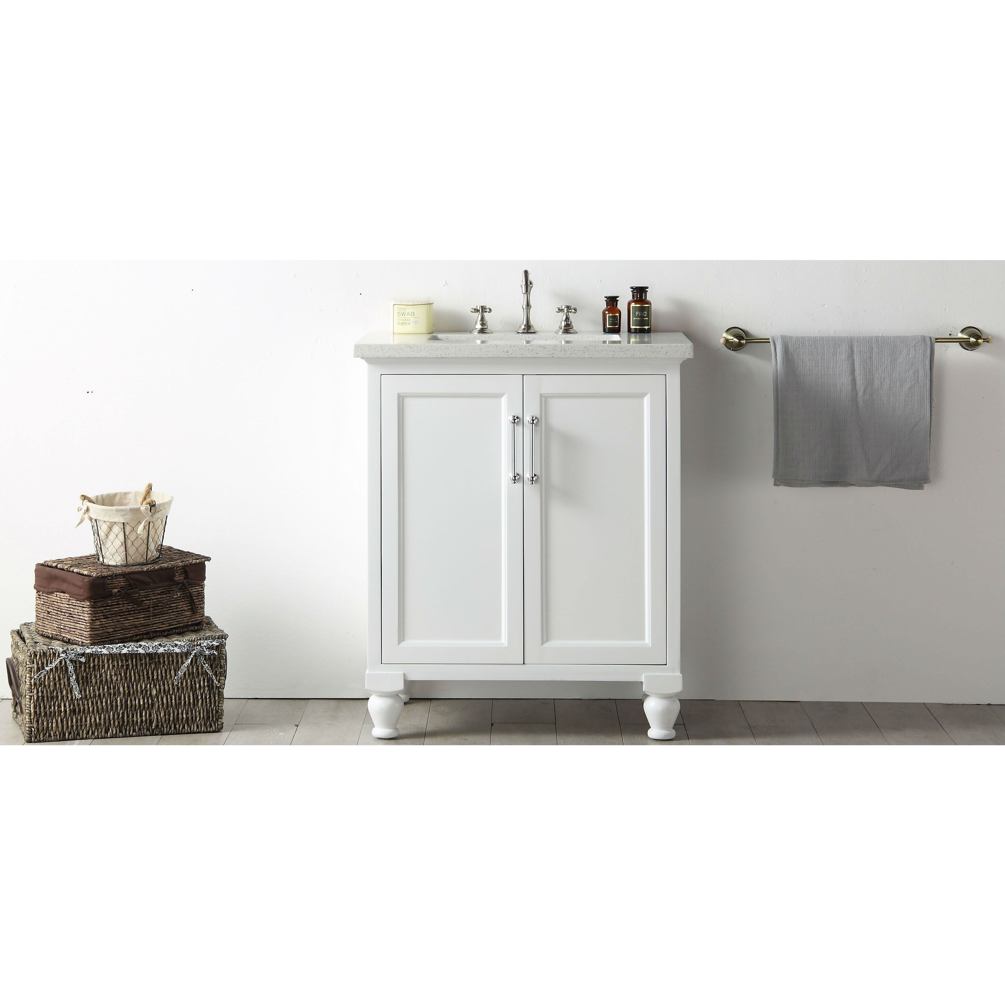 inch furniture vanity top legion single pin quartz w bathroom white