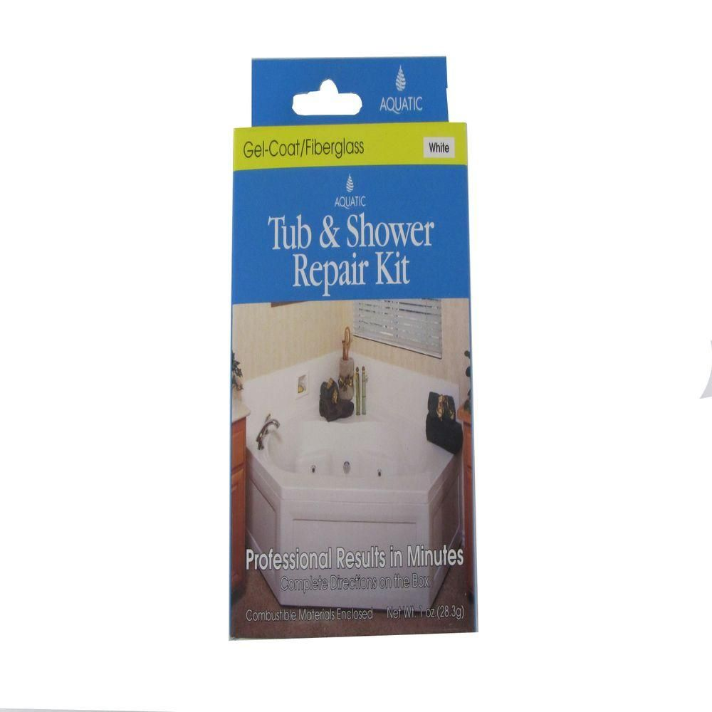 Aquatic Gelcoat Repair Kit In White 35rkwh With Images Bathtub