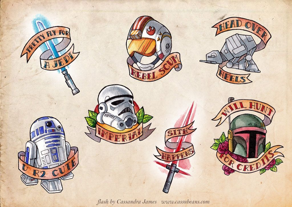 Star Wars Tattoo 15