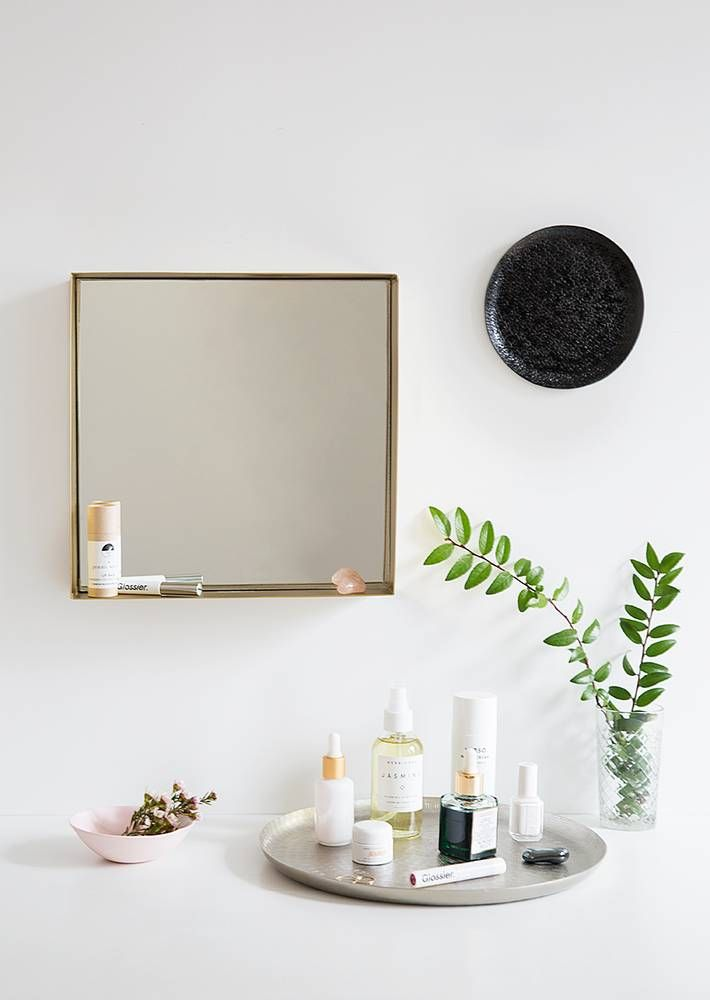 1 Item 3 Ways Decorating With Cb2s Metal Wall Plates