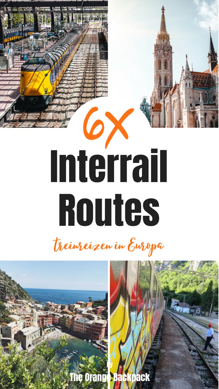 Interrailing Europe Routes 6 Best Interrail Routes The Orange Backpack Treinreizen Europa Reizen Reizen