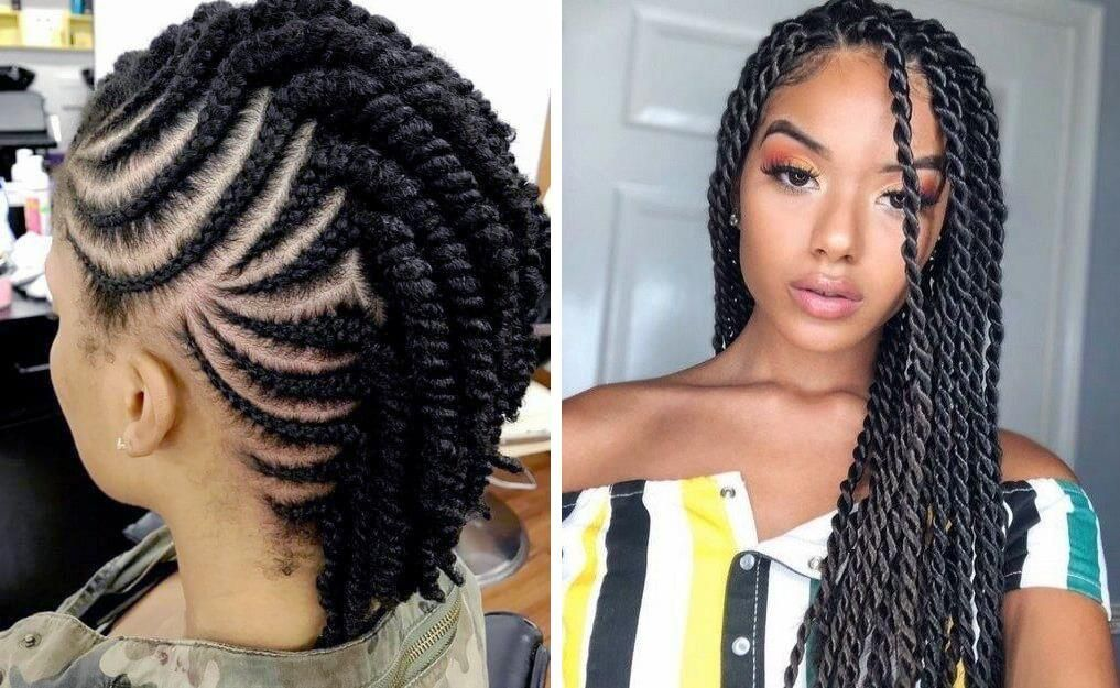 Short Hairstyles Black Hair Hairstyles For Curly Hair African Summer Hairstyles Natural Hair Twists Natural Hair Twist Out Natural Hair Styles