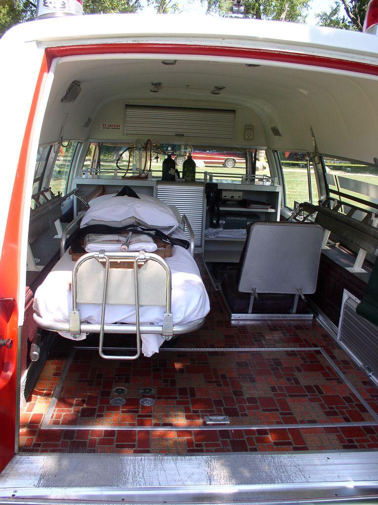 Pin By Glen Thomas On Gearhead Shit Emergency Vehicles Flower Car Ambulance