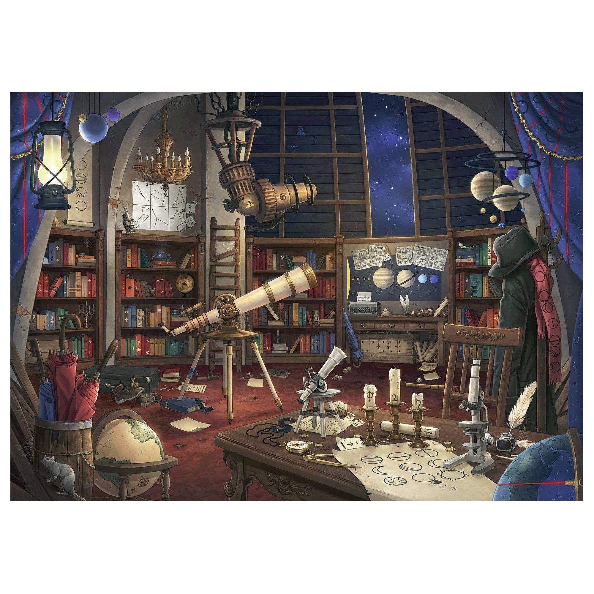 Ravensburger Escape Puzzle Space Observatory Puzzle 759pc