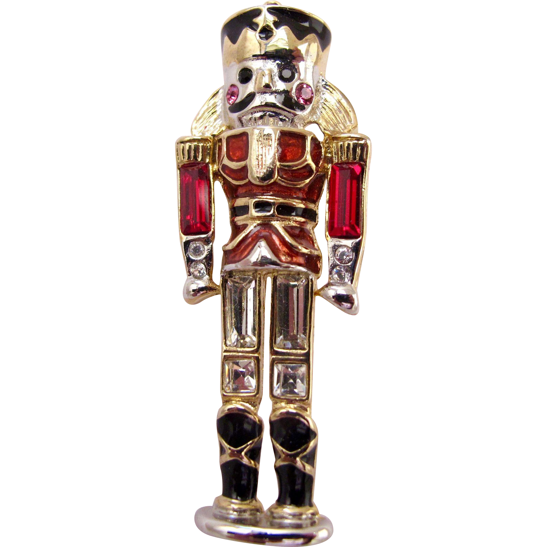Monet Christmas Nutcracker Toy Soldier Pin offered by 2Hearts Uptown ...
