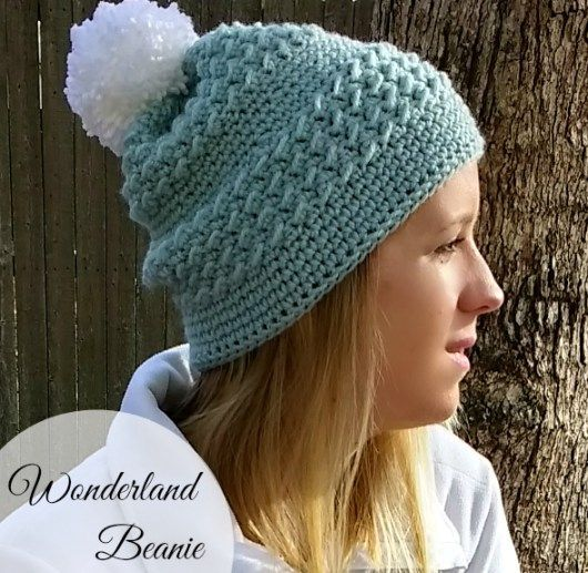 Wonderland Beanie | Crochet Hats | Pinterest | Gorros
