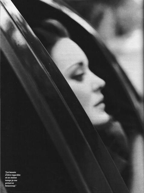 Marion Cotillard for Madame Figaro