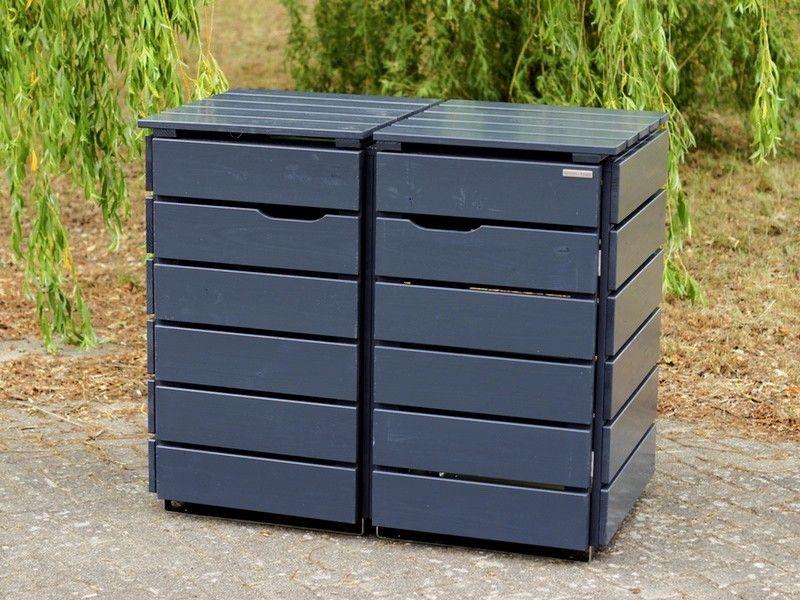2er m lltonnenbox holz 240 liter 2er m lltonnenbox m lltonnenverkleidung pinterest. Black Bedroom Furniture Sets. Home Design Ideas