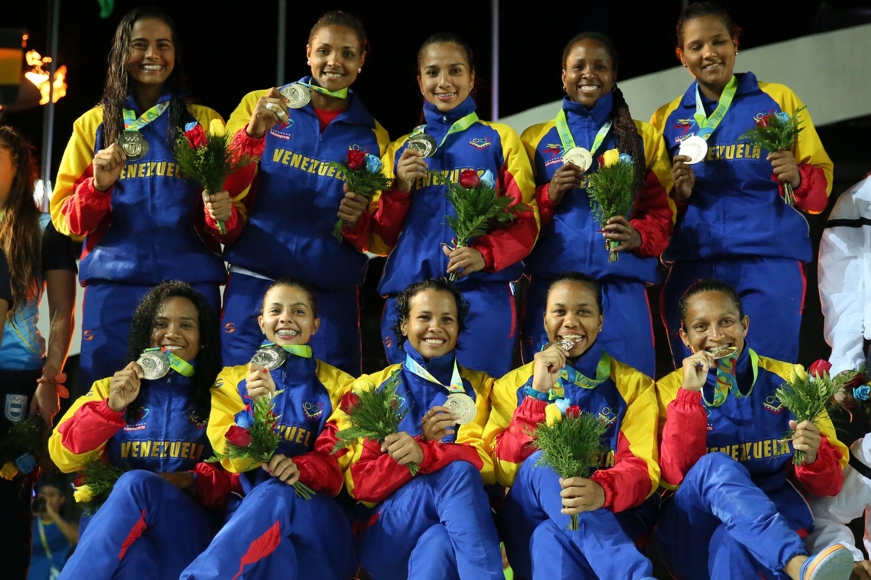 Venezuela gana oro en balonmano femenino. (Foto: AVN)