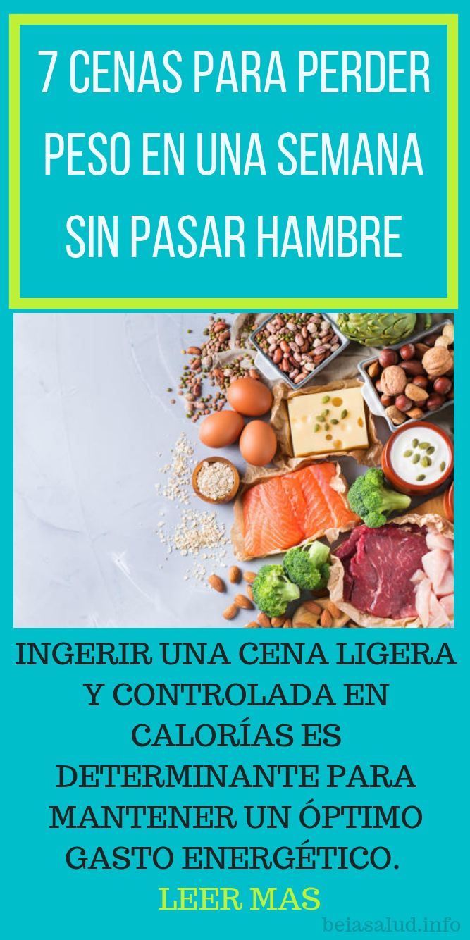 Como se puede adelgazar sin pasar hambre