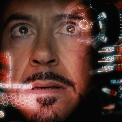 "Diseño de Interfaces Gráficas para películas, aquí Iron Man de ""The Avengers"". By: Jayse"