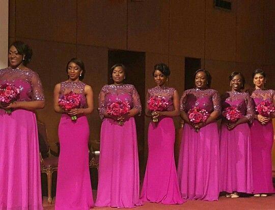 Bridesmaid Dresses Mermaid Bridesmaid Dresses Fuschia Bridesmaid Dresses Bridesmaid Attire