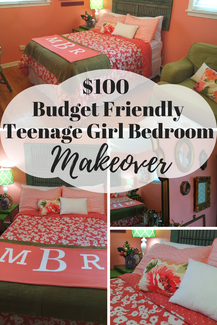 100 Budget Friendly Teenage Girl Bedroom Makeover Bedroom