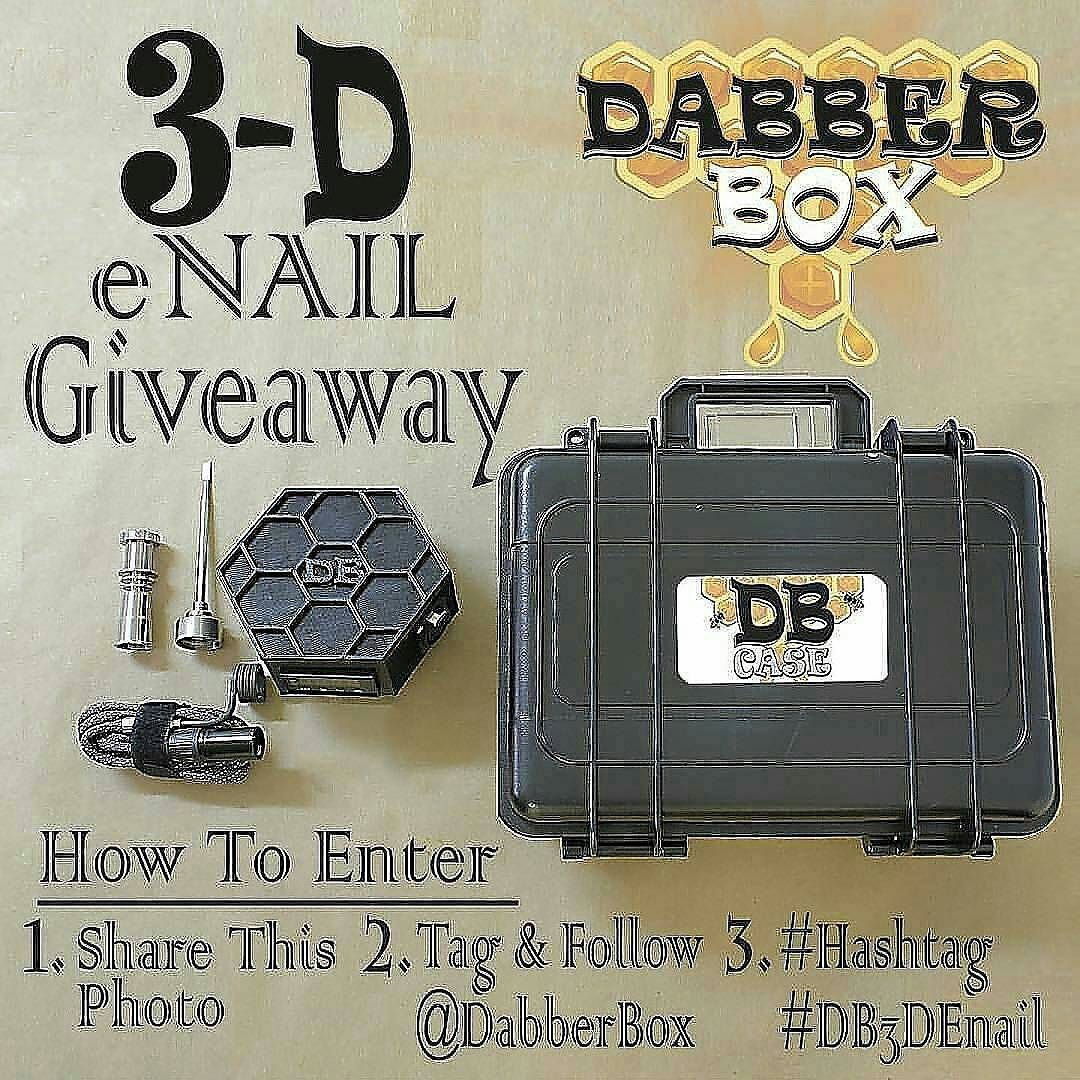 Oh please... please.. @Regrann from @dabberbox -  Introducing the next in @dabberbox #evolution.  The 3-D eNail!  We are giving away one of our brand new  #3DPrinted custom #DB Honeycomb ENails.  ENTER WITH 3 EASY STEPS!! 1. Share this photo  2. FOLLOW & TAG @DABBERBOX 3. Must hashtag #DB3DEnail  WINNER WILL BE CHOSEN (12.21.15)  Must be 18 years or older to participate. Sharing Unlimited Inquiries for pre-order please email dabberbox@gmail.com  #giveaway #3dprinting #lulzbot #titanium…