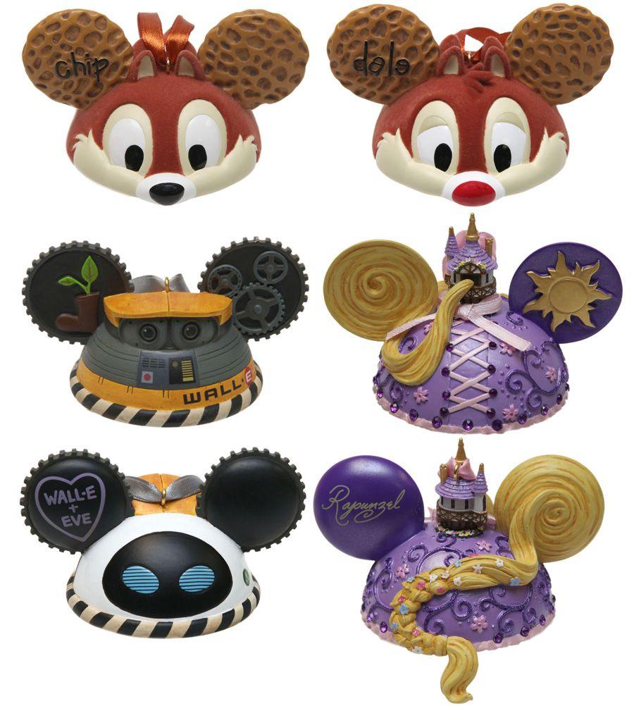 Disney Magic · Mickey Mouse Christmas Ear Hat Ornaments