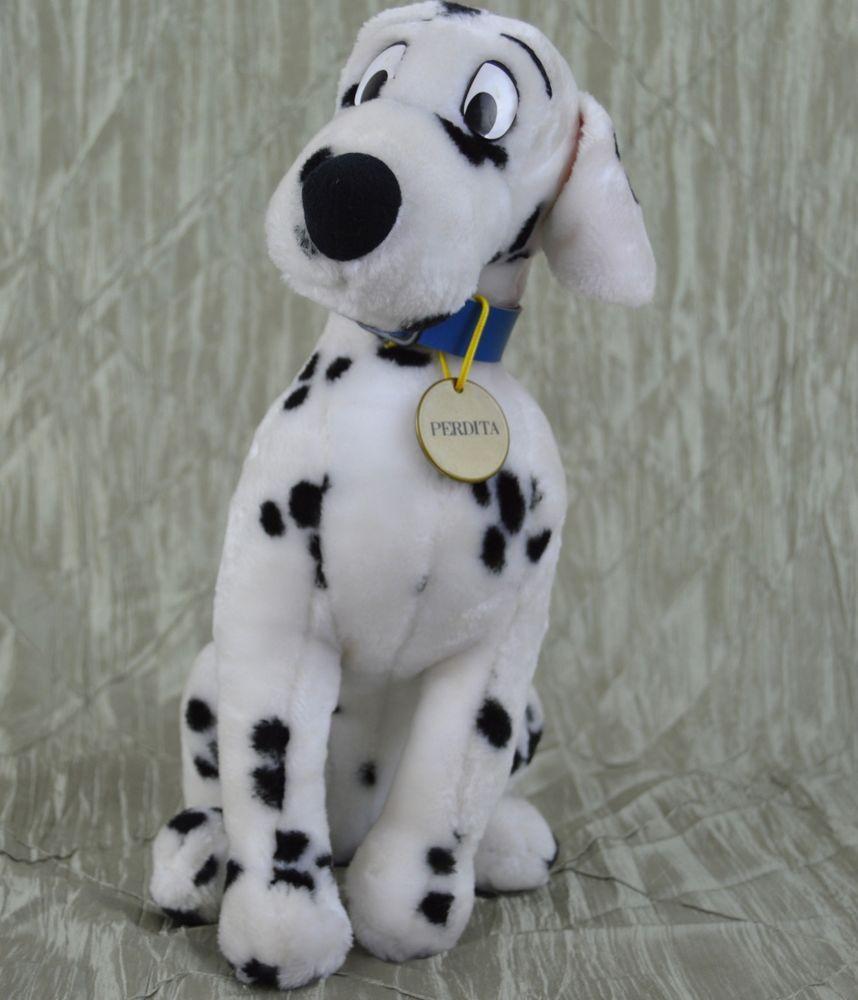 perdita plush disney  dalmatians  stuffed animal mommy dog  - perdita plush disney  dalmatians  stuffed animal mommy dog plush bluecollar vintage