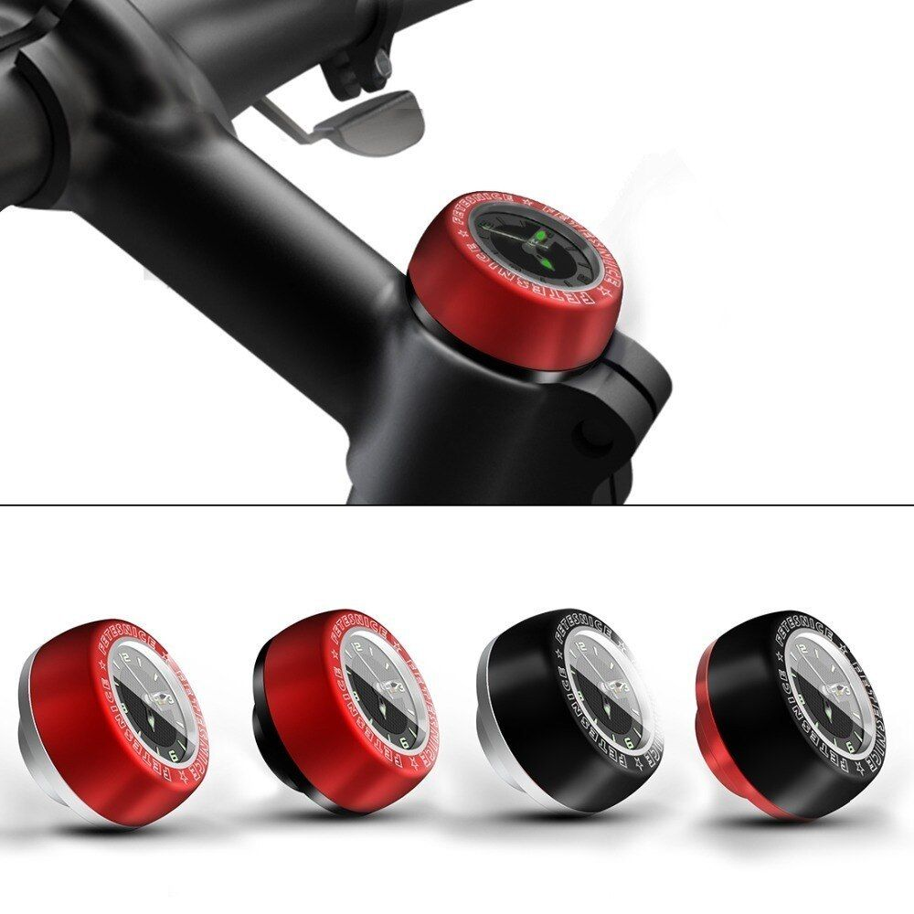Carbon Fiber MTB Bicycle Bike Cycle Cycling Handlebar Stem Headset Top Cap Cover