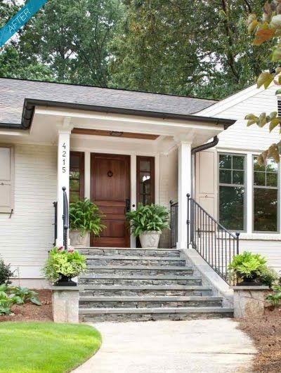 Pin By Michele Weaverling On For The Home In 2020 Ranch Exterior Exterior Makeover Exterior Brick
