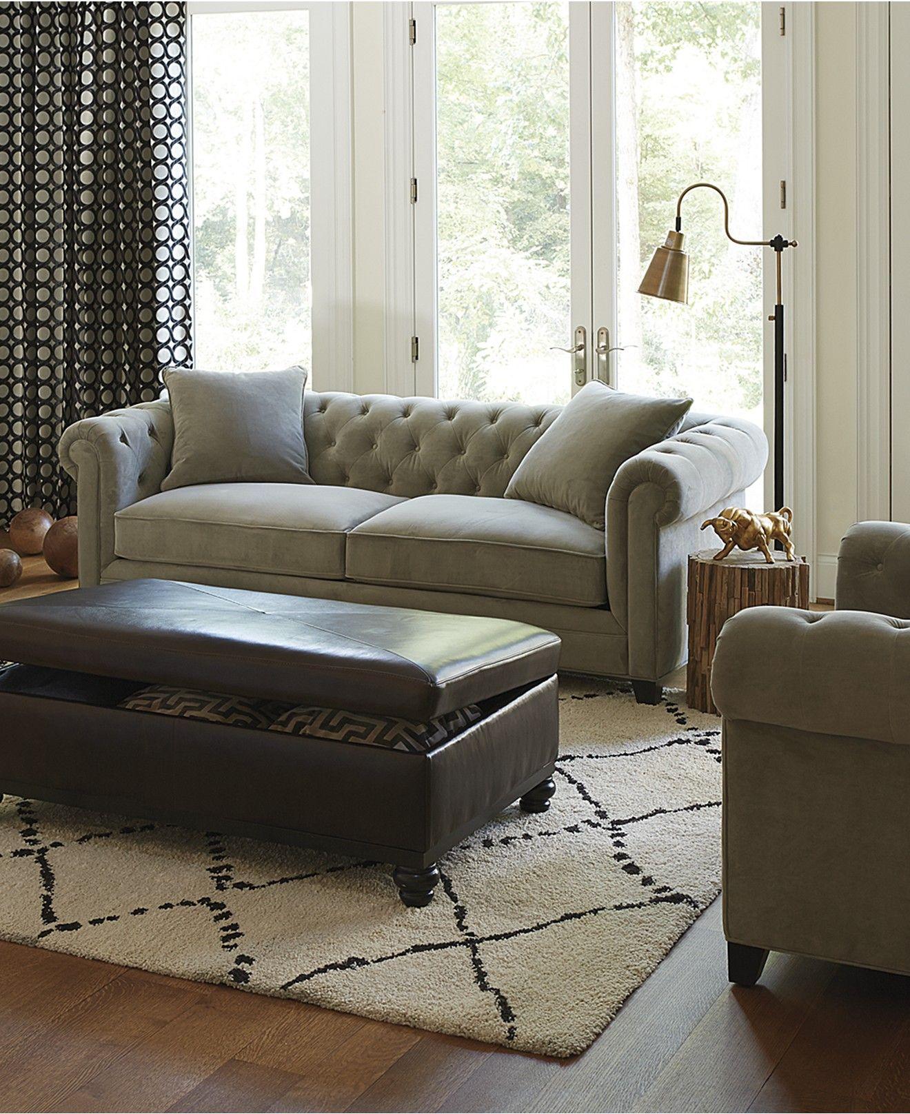 Saybridge 92 Fabric Sofa Created For Macy S New England