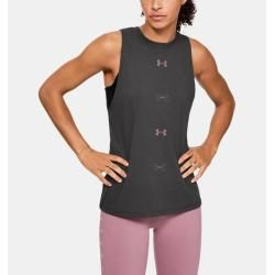 Photo of Women's UA 6M muscle shirt with graphic Under Armor