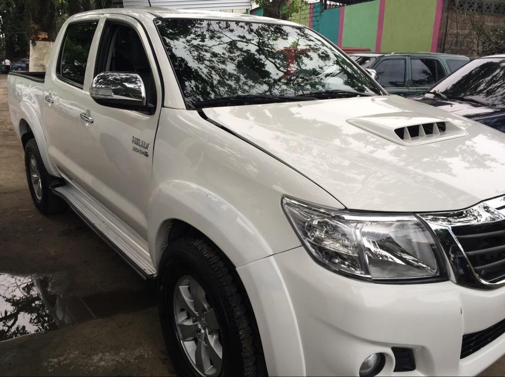 Venta De Carros En El Salvador >> Toyota Hilux 2015 Doble Cabina 4x4 Carros En Venta San Salvador